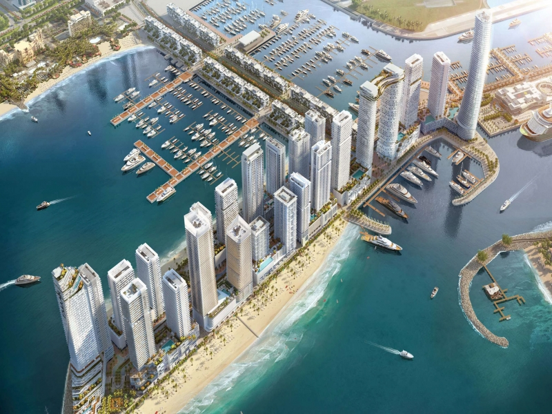 Apartment Off Plan in Dubai emaar beachfront